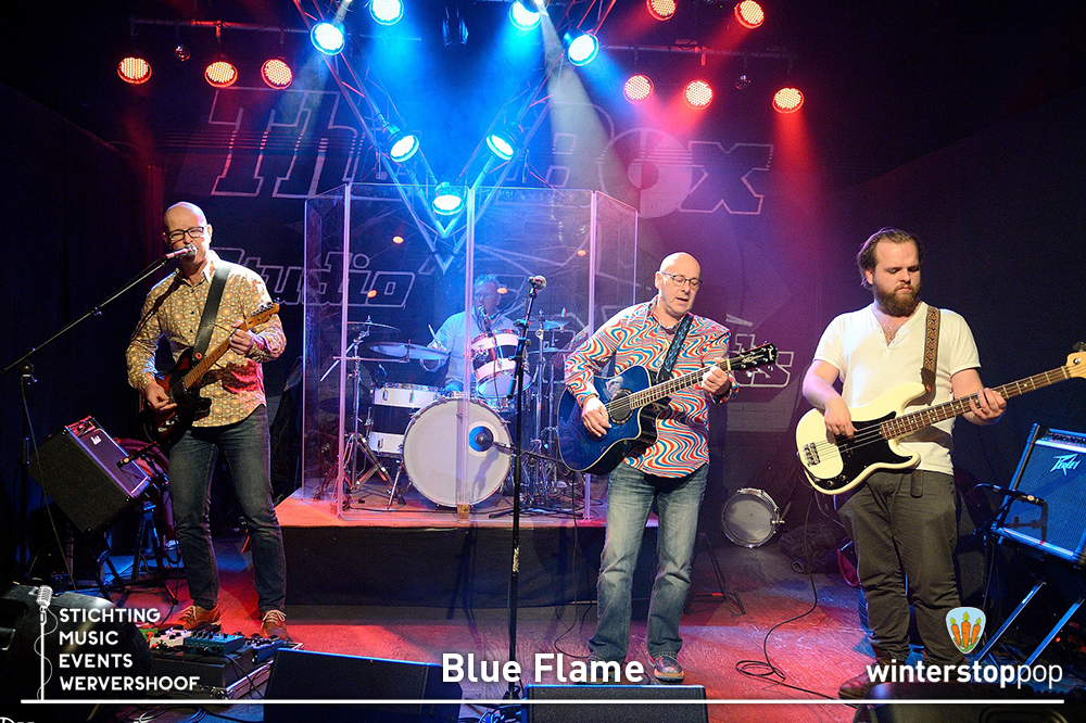 Blue Flame Winterstoppop